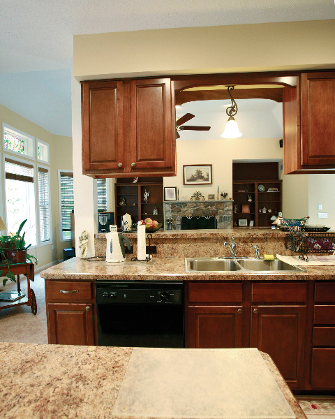 Custom Home Kitchen in the Poconos