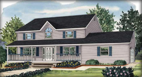 The Samuel vacation home floor plan by Liberty Homes of PA