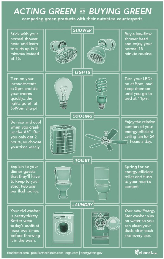 Ac ting Green vs. Buying Green