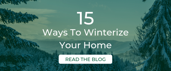15 Ways to Winterize Your Home