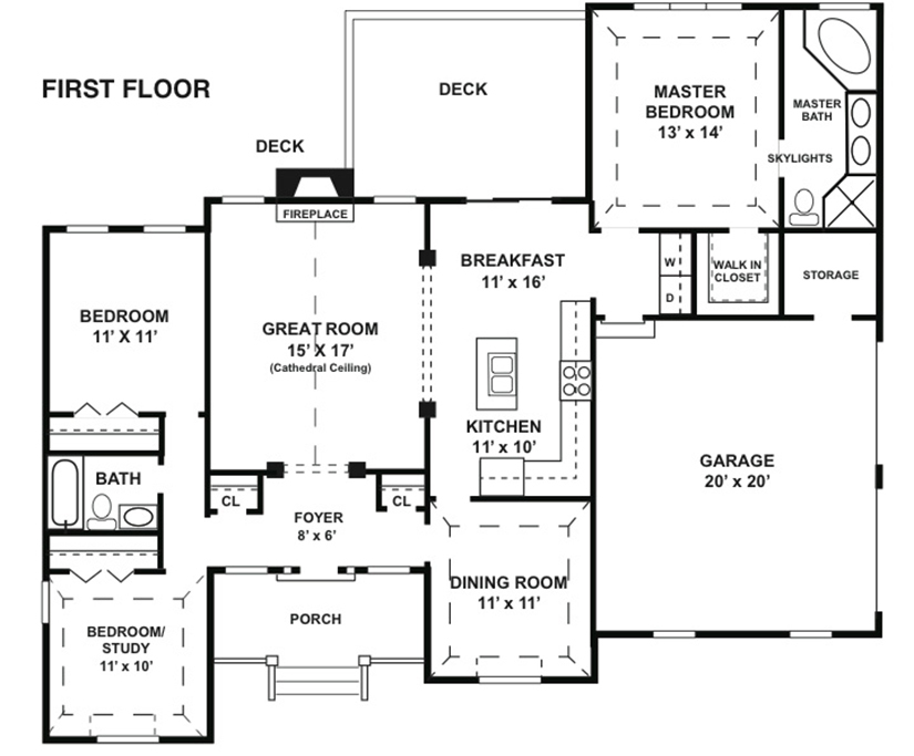 Baldwin-Floorplan