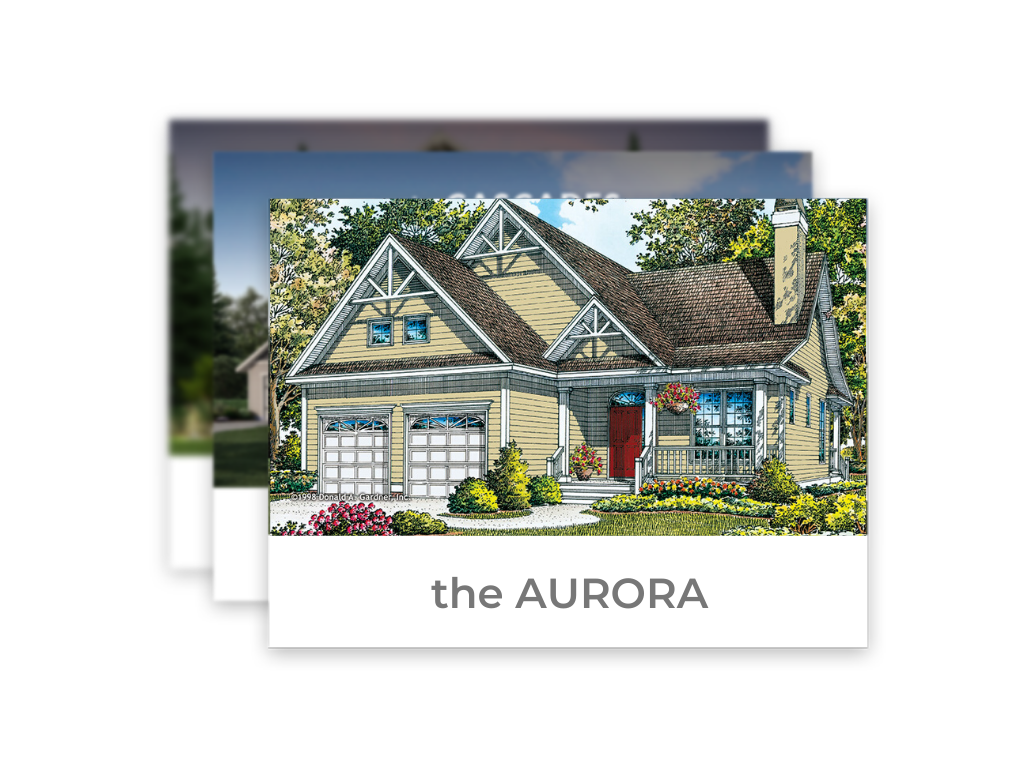 The Aurora Home Floor Plan in the Poconos - Liberty Homes