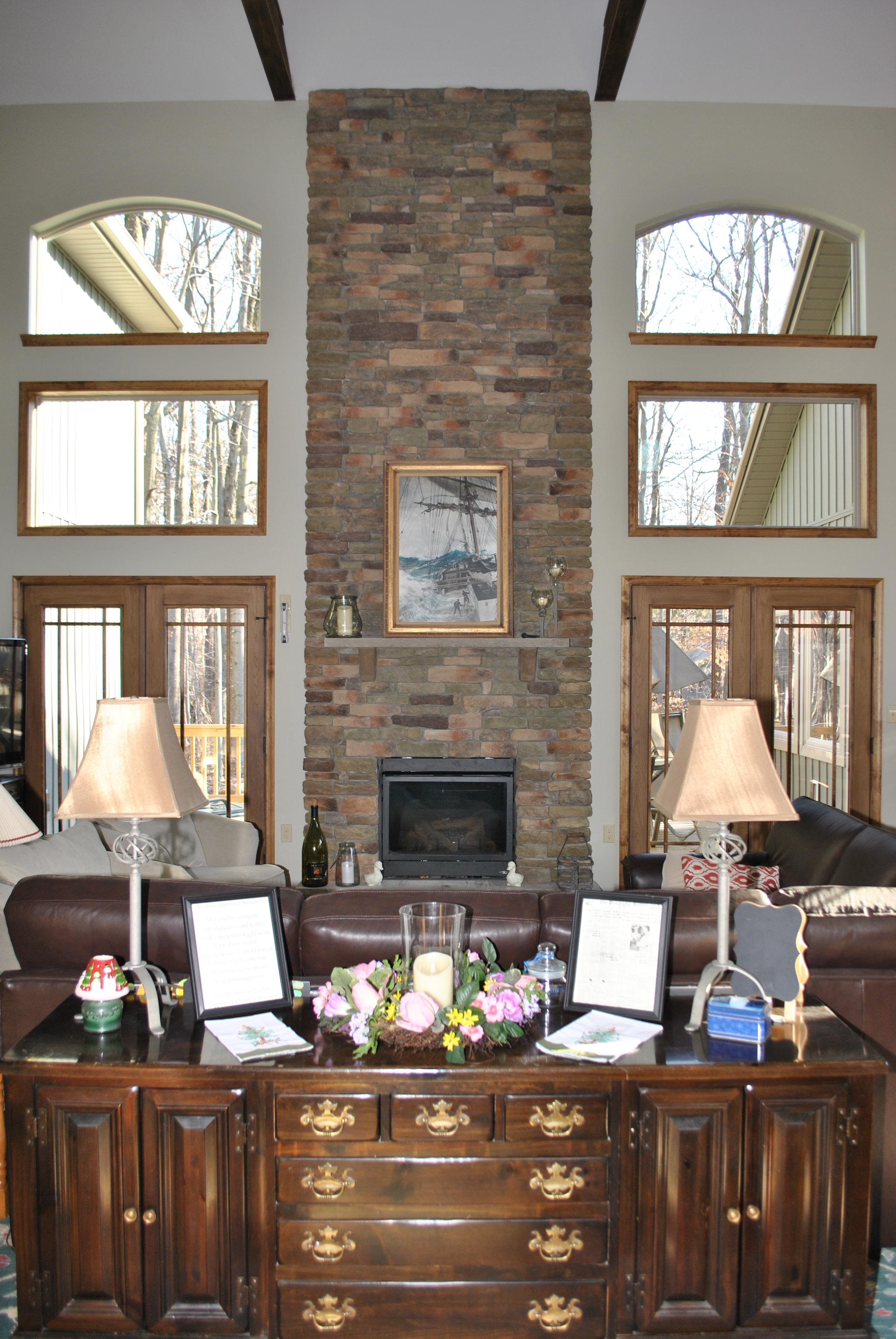 A Grand Fireplace for a Grand Home