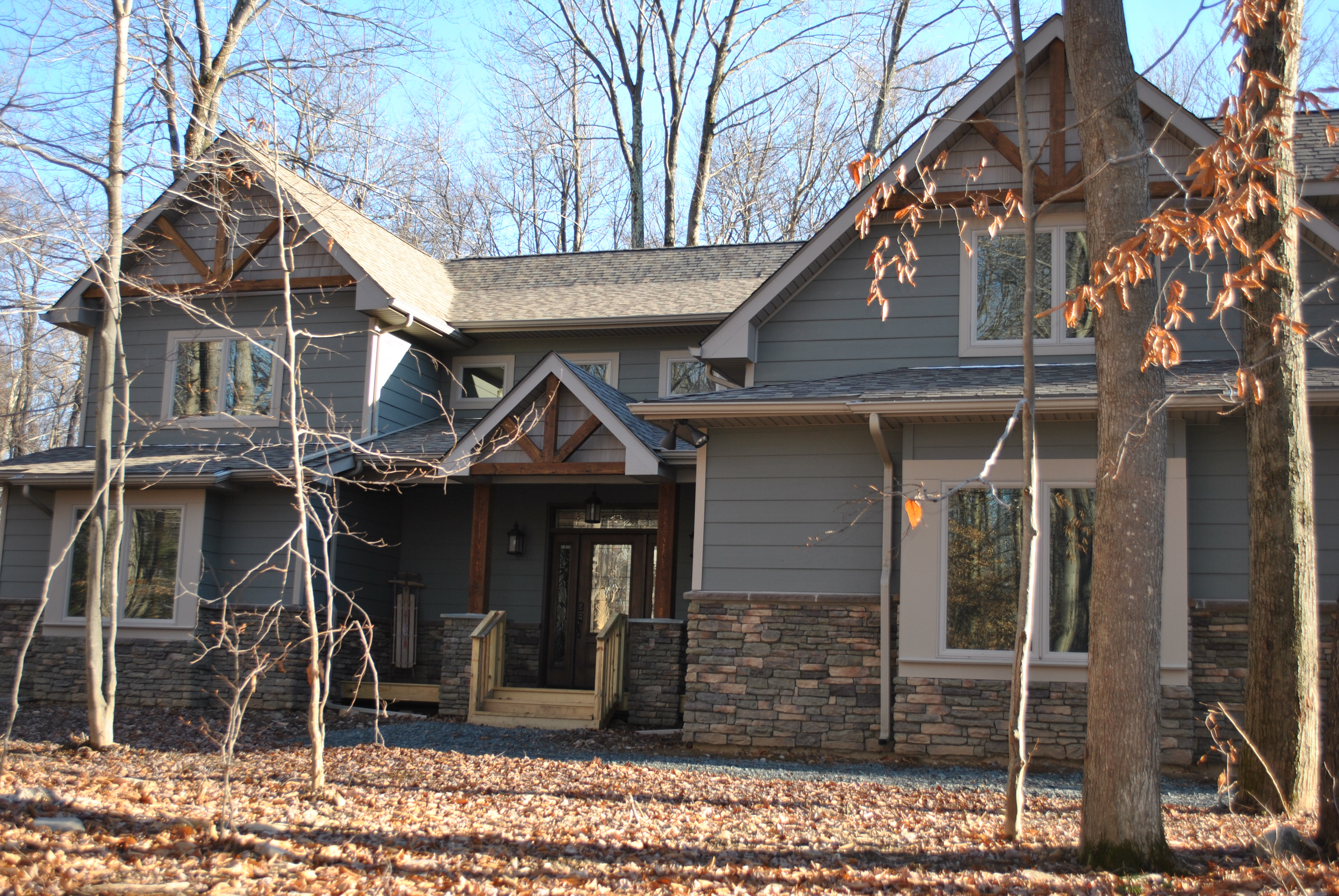 Gorgeous Custom Home in the Fall