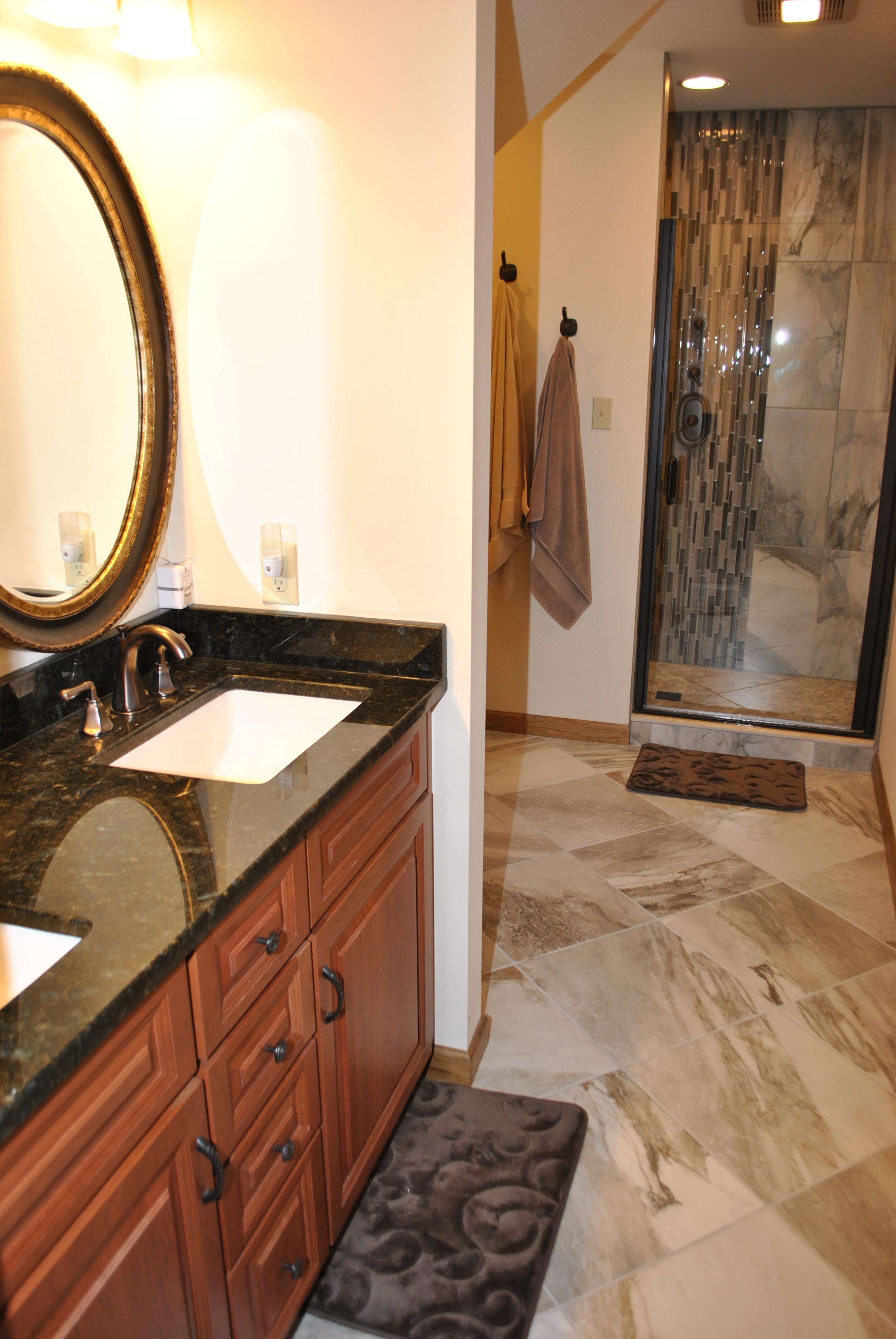 Custom Bathroom by Liberty Homes