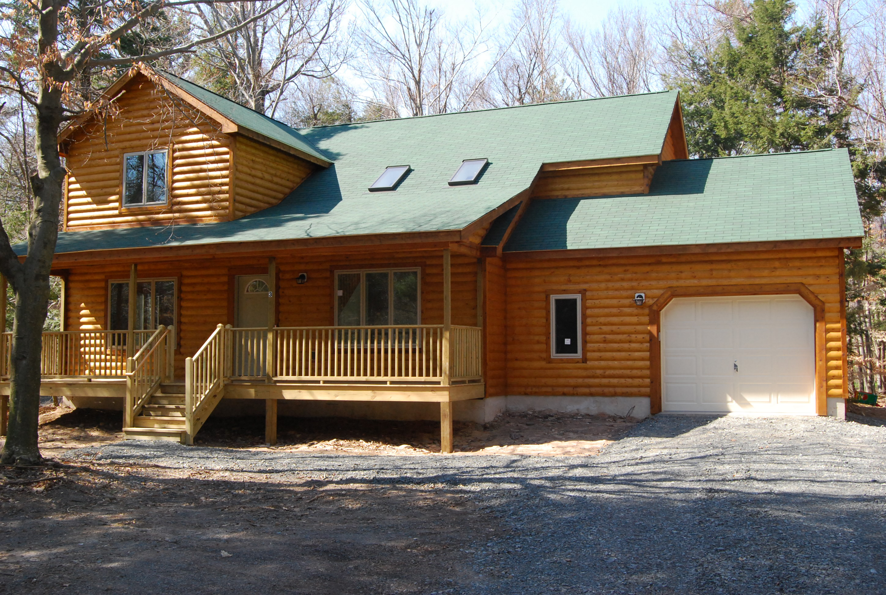Amazing Log Cabin Home in the Poconos!